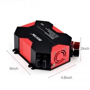 BESTEK 400W Power Inverter Dual 110V AC Outlets 4 USB Ports
