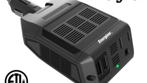 ENERGIZER 100 Watt Direct Plug In Ultra-Silent Power Inverter