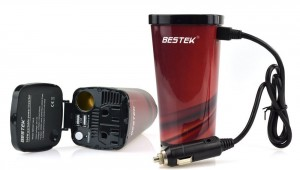 BESTEK 200W400W Peak Power Inverter Max 4.5A Dual USB Ports