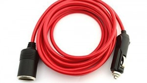 12 Foot Cigarette Lighter Plug Extension Cord