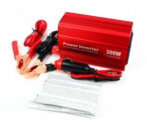 AKILULU 300W 12VDC to 110VAC Car Power Inverter