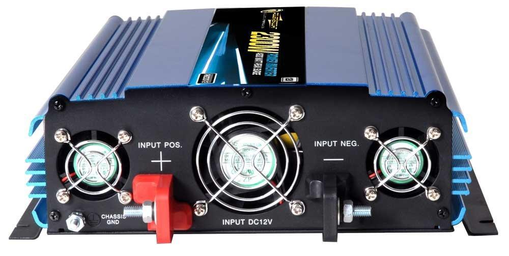 POWERBRIGHT PW2300-12 12-Volt Modified Sine Wave Inverter 2,300 Watts