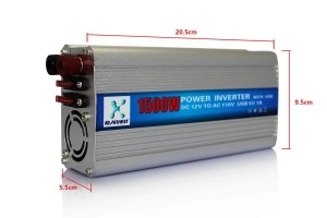 Klarheit 1500W Auto DC 12V - AC 110V Car Power Inverter