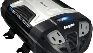 ENERGIZER 500W Power Inverter 12V DC-120 Volt AC 2 USB ports
